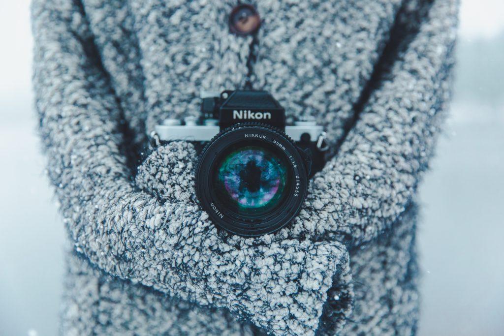 Take a Winter Photography Walk. HerTrack..com